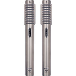 Royer Labs R-122 MKII Active Ribbon Microphone (Nickel, Matched Pair)