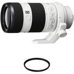 Sony FE 70-200mm f/4 G OSS Lens with UV Filter Kit