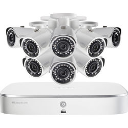 Lorex 8-Channel 4K UHD NVR with 2TB HDD & 8 5MP Night Vision Bullet Cameras