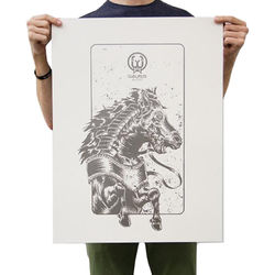WALRUS AUDIO Iron Horse V2 Screen Printed Poster