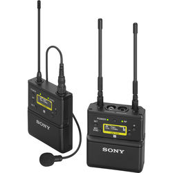 Sony UWP-D21 Camera-Mount Wireless Omni Lavalier Microphone System (UC90: 941 to 960 MHz)