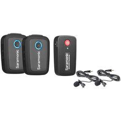 Saramonic Blink 500 B2 2-Person Digital Camera-Mount Wireless Omni Lavalier Microphone System (2.4 GHz)