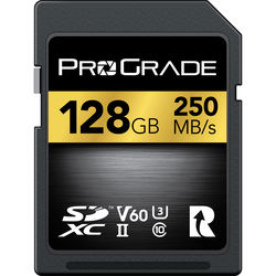 ProGrade Digital 128GB UHS-II SDXC Memory Card