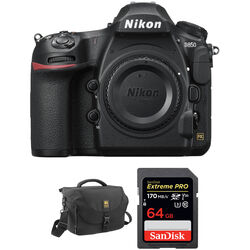 Nikon D850 DSLR Camera Body and Accessories Kit