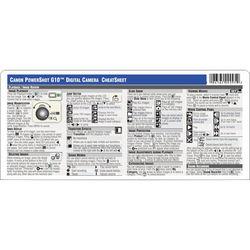 PhotoBert Cheat Sheet for the Canon Powershot G10 Digital Camera