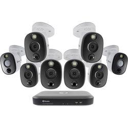 Swann 8-Channel 4K UHD DVR with 2TB HDD & 8 4K Spotlight Night Vision Bullet Cameras
