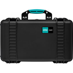HPRC 2550E HPRC Wheeled Hard Case without Foam (Black with Blue Handle)