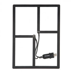 HD Frequency Cable Cutter Mini Indoor/Outdoor Antenna (Black)