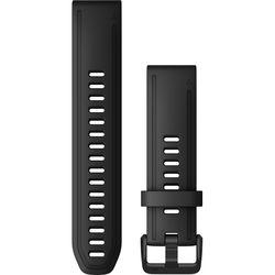 Garmin QuickFit 20 Silicone Watch Band (Black)