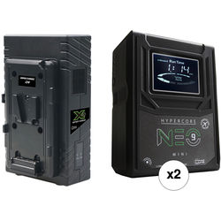 Core SWX HyperCore NEO 9 Mini 98Wh 2-Battery Kit with X2S Vertical Charger (V-Mount)