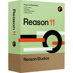 Reason Studios Reason 11 - Music Production Software (Upgrade from Previous Full Editions, Download)