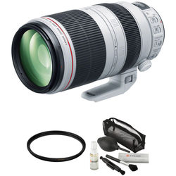 Canon EF 100-400mm f/4.5-5.6L IS II USM Lens with Accessories Kit