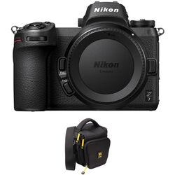 Nikon Z 7 Mirrorless Digital Camera with FTZ Mount Adapter and Bag Kit