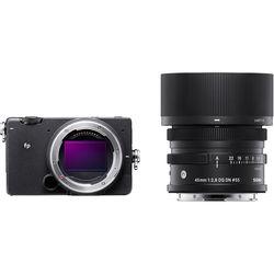 Sigma fp Mirrorless Digital Camera with 45mm Lens