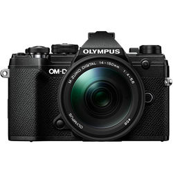Olympus OM-D E-M5 Mark III Mirrorless Digital Camera with 14-150mm Lens (Black)