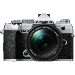 Olympus OM-D E-M5 Mark III Mirrorless Digital Camera with 14-150mm Lens (Silver)