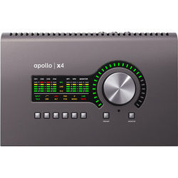 Universal Audio Apollo x4 Thunderbolt 3 Desktop Audio Interface with Real-Time UAD Processing