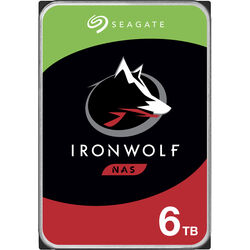 "Seagate 6TB IronWolf 7200 rpm SATA III 3.5"" Internal NAS HDD (Retail)"