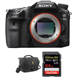 Sony Alpha a99 II DSLR Camera Body with Accessories Kit