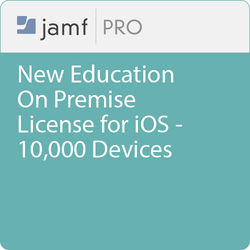 Jamf Education - New/  Jamf Pro On Premise  License for iOS -10000 Devices