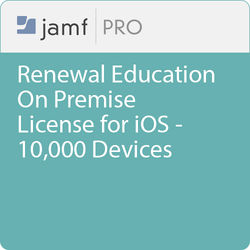 Jamf Education - Renewal/ Jamf Pro On Premise  License for iOS -10000 Pieces