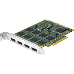YUAN 4-Channel PCIe x4 4K DCI 60P HDR HDMI Input Capture Card