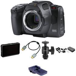Blackmagic Design Pocket Cinema Camera 6K/Pro Monitoring Kit