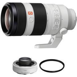 Sony FE 100-400mm f/4.5-5.6 GM OSS Lens with 1.4x Teleconverter Kit