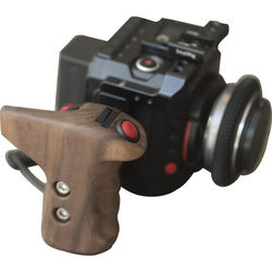RVLVR Right-Side Remote Clutch Handle with LANC Camera Control (Black Walnut)