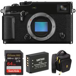 FUJIFILM X-Pro3 Mirrorless Digital Camera Body with Accessories Kit (Black)