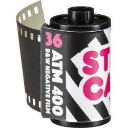 STREET CANDY FILM Street Candy ATM 400 B&W Film (36 Exp)