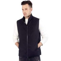 Pacsafe Transit RFID Men's Multi-Pocket Insulated Vest (Jet Black, Small)