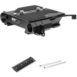 "ARRI BP-8 Bridge Plate Kit with 12"" Dovetail Plate & 19mm Rods"