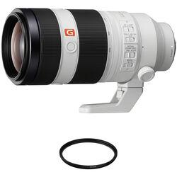 Sony FE 100-400mm f/4.5-5.6 GM OSS Lens with UV Filter Kit