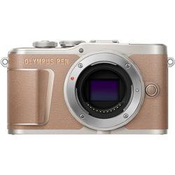 Olympus PEN E-PL10 Mirrorless Digital Camera (Body Only, Brown)