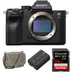 Sony Alpha a7R IV Mirrorless Digital Camera Body with Accessories Kit
