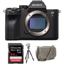 Sony Alpha a7R IV Mirrorless Digital Camera Body with Tripod Kit
