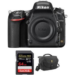 Nikon D750 DSLR Camera Body and Accessories Kit