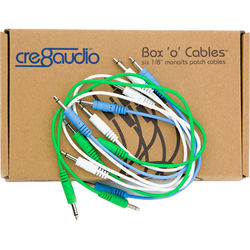 Cre8audio Box 'o' Cables Eurorack Patch Cables (3 Pairs of Different Lengths)