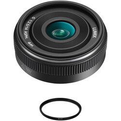 Panasonic Lumix G 14mm f/2.5 ASPH II Lens with UV Filter Kit