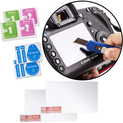 Movo Photo Glass Screen Protector for Canon EOS 5D III (2-Pack)