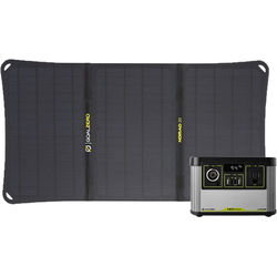 GOAL ZERO Yeti 200X Portable Power Station and Nomad 20 Solar Panel Kit