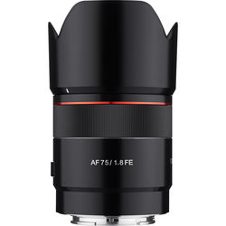 Rokinon AF 75mm f/1.8 FE Lens for Sony E