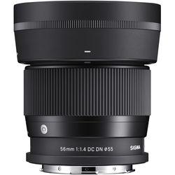 Sigma 56mm f/1.4 DC DN Contemporary Lens for Leica L
