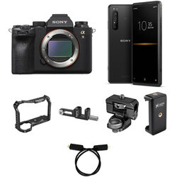 Sony Alpha a9 II Mirrorless Digital Camera with Sony Xperia PRO 5G Smartphone Streaming Kit