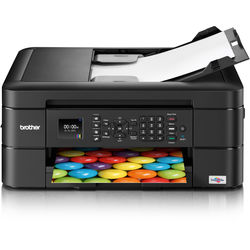 Brother MFC-J460dw Wireless Color Inkjet All-In-One Printer with Additional High Yield Black Ink Cartridge Kit