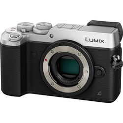 Panasonic Lumix DMC-GX8 21MP 4K Mirrorless Digital Camera Body - Silver + Panasonic 12-60mm F/3.5-5.6 Lumix Four Thirds Lens + $150 Gift Card