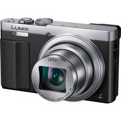 Panasonic Lumix DMC-ZS50 12.1MP HD Digital Camera with 30x Optical Zoom - Silver