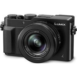 Panasonic Lumix DMC-LX100 12.8 Megapixels 4K Digital Camera with 3x Optical Zoom (Black)