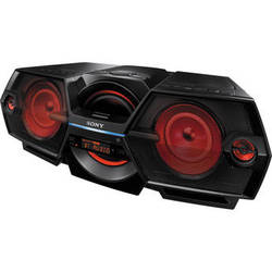 Sony ZS-BTG900 CD/CD-R/RW Boombox with AM/FM Radio - Black